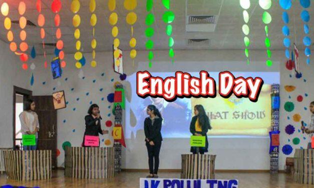 The English Day Celebrations