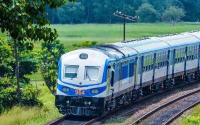 A train ride-(දුම්රියෙන් ගිය ගමනක්)